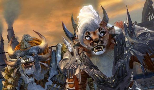 Guild Wars 2 | Fashion Wars | The Human Race | The Herald